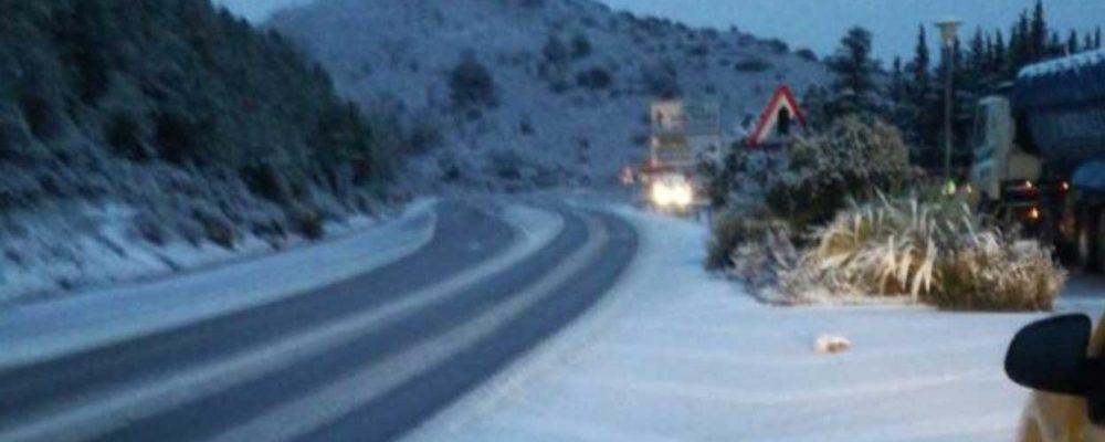 La nieve vuelvea la Serranía de Ronda